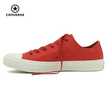Converse Chuck Taylor II new All Star low men and women's sneakers canvas shoes Class