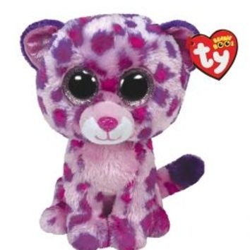 Glamour Leopard 16 Inch Beanie Boo | Girls Large Plush Stuffed Animals | Shop Justice