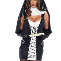 3pc. Naughty Nun Costume