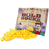 Gold Rocks Nugget Bubble Gum Packs: 12-Piece Box