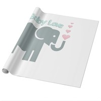 Baby Love Wrapping Paper