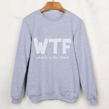 2017 Top Twill Full New Autumn Tumblr Sweatshirts Sleeve O-neck Grey Hoodies Femme Clothing Sudaderas Mujer Polerones Pullovers