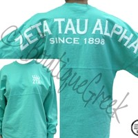 ZTA Spirit Football Jersey  «  Boutique Greek