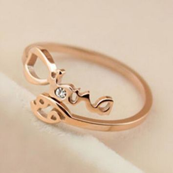 womens rose gold constellation diamond ring adjustable gift 126 2