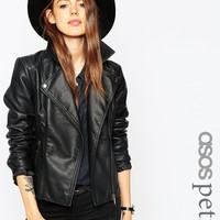 ASOS PETITE Ultimate Biker with Stitch Detail