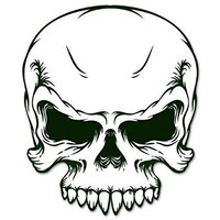 Military ARMY SKULL racing car styling sticker