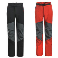 2016 Mammoth Brand Outdoor Softshell Pants Outside Men Sportswear Waterproof Thermal Wind-proof Trousers For Hiking Camping Ski
