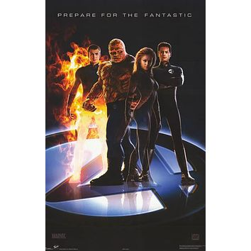 Fantastic Four 2005 Marvel Comics Movie Poster 22x34