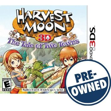 Harvest Moon: The Tale of Two Towns — PRE-OWNED - Nintendo 3DS