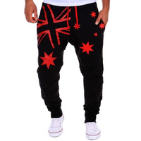New Fashion Brand Men's Pants Casual Printing Design Stylish Comfortable Men Pants Free shipping 4 Colors