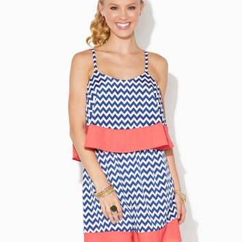 Chevron Sashay Dress | Fashion Apparel | charming charlie