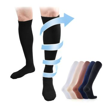 6 colors Compression Sock  for men and women boost blood circulation Fat burn leg slimming socks
