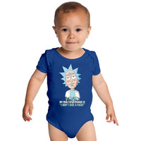 Rick And Morty Baby Onesuits