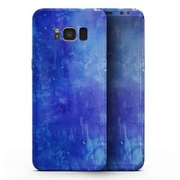 Blue 275 Absorbed Watercolor Texture - Samsung Galaxy S8 Full-Body Skin Kit