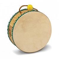 Green Tones Tom Tom Drum with Mallet
