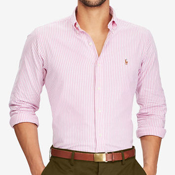 Polo Ralph Lauren Men's Classic-Fit Cotton Oxford Shirt | macys.com