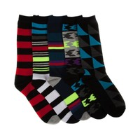 Mens Fashion Crew Socks 5 Pack, Multi, at Journeys Shoes