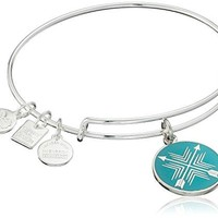 Alex and Ani Charity By Design Arrows of Friendship Expandable Bangle Bracelet