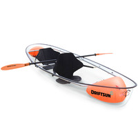 Transparent Kayak - 2 Person Clear Bottom Canoe