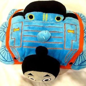 "My Pillow Pets Large 18"" Plush Pillow Thomas The Tank Engine-Brand New!"