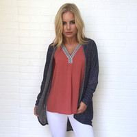 Out Of Bounds Cardigan