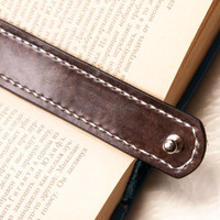 Leather bookmark, book mark, page holder, book accessories, reader book lover teacher librarianHand tooled Leather Cuff Leather bookmark
