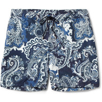 Etro - Printed Mid-Length Swim Shorts | MR PORTER