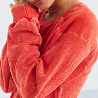 Project Social T Finn Terry Knit Top | Urban Outfitters