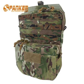 Molle Military Airsoft Hydration Pouch 3L Water Pack Tactical Paintball Durable Quick Dry Waterproof Vest Hydration Backpack