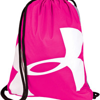 Under Armour Drawstring Bag Pink | Luther Book Shop