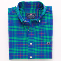 Alwood Plaid Tucker Shirt
