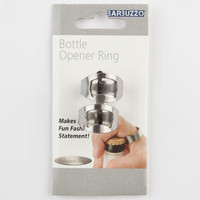 Barbuzzo Bottle Opener Rings Silver One Size For Men 24898114001