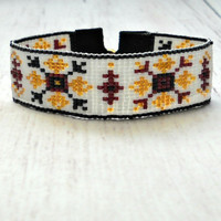 Beaded Bracelet - Bead Woven Bracelet - Adjustable Bracelet - Native American Beaded Bracelet Seed Bead Bracelet - Bead Bracelet