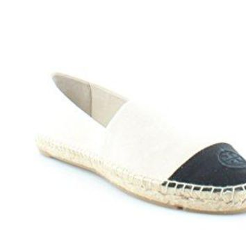 Tory Burch Espadrille Flat Canvas Shoes Sneakers Color Block