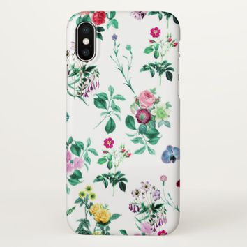 Claire Blossom LOVE flower iPhone X Case