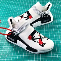 Off White X Bbc X Pharrell Williams X Adidas Originals Nmd Hu Trail Sport Running Shoes - Best Online Sale