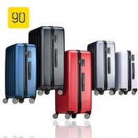 "Xiaomi 90FUN Full PC Rolling Luggage with Lock Spinner Lightweight High Strength Carry On Suitcase Travel Luggage 20""/24""/28"""