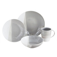 Baum Metro Taupe 16-pc. Dinnerware Set