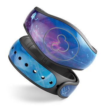 Dream Blue Cloud - Decal Skin Wrap Kit for the Disney Magic Band