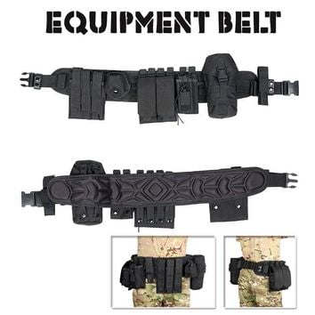 Tactical  Military 600D Oxford Cloth Paintball Gear Belt