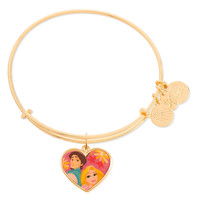 Rapunzel and Flynn Valentine's Day Bangle by Alex and Ani