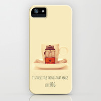 it's the little things that make life big iPhone & iPod Case by ingz