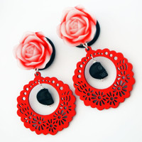 Glamsquared — Devilish Dolly Steel Dangle Plugs