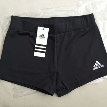 Adidas Women Casual Solid Sport Running Shorts