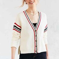 BDG Yacht Club Varsity Stripe Cardigan - Urban Outfitters