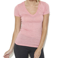 Whitney Tri-Blend V-Neck Tee | Shop Tops at Wet Seal