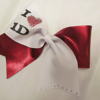 One Direction Cheer Bow by BowsItUp on Etsy