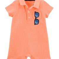 Sunglasses Polo Romper