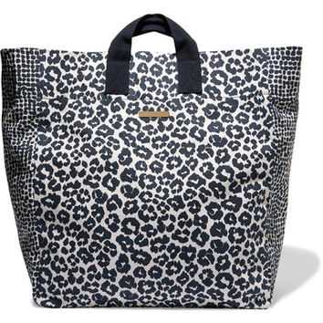 Stella McCartney - Printed cotton-canvas tote