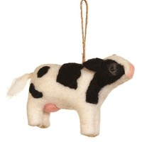 Sage & Co   Wool Dairy Cow Ornament   Nordstrom Rack